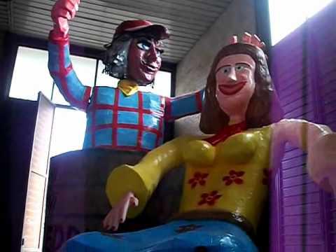 """VIDEO – Carnevale 2012, ecco l'anteprima del carro """"Chi ni finì beddra"""""""