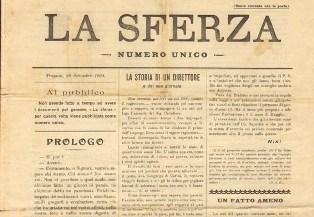 La Sferza, il primo giornale pubblicato a Cattolica Eraclea