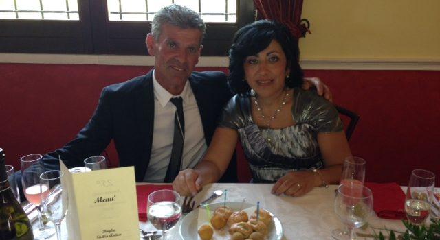GIORNI LIETI. Il 25^ anniversario di matrimonio di Giovanna e Raimondo Miceli