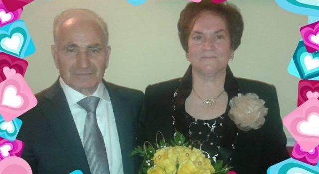 GIORNI LIETI. Auguri a Leonarda e Vito Oliveri per i loro 50 anni di matrimonio