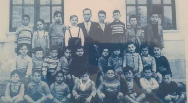 FOTO. Scuole elementari di via oreto 1955 e 1958