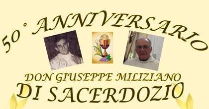 50 Anni Di Sacerdozio Cattolica Festeggia Don Giuseppe