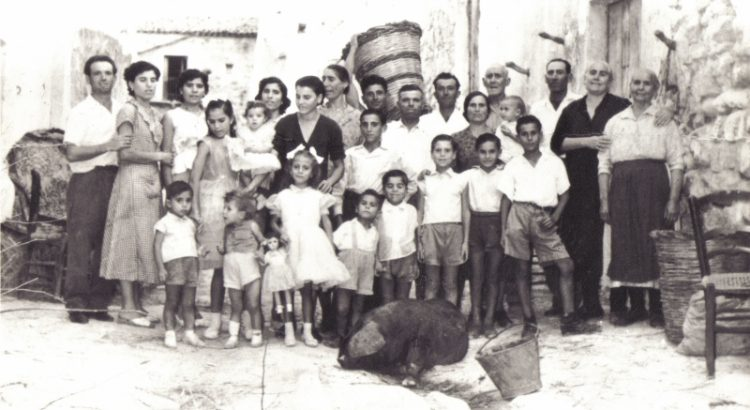 Come Eravamo. Famiglia Ragusa anno 1958
