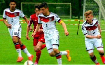 Stefano Russo, giovane cattolicese capitano della nazionale tedesca Under 16
