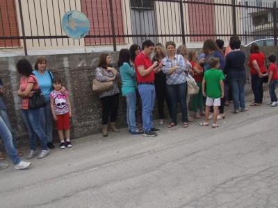 VIDEO. Trasferimento scuola via Oreto, la protesta dei genitori