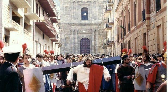 COME ERAVAMO. Via Crucis vivente anno 1989