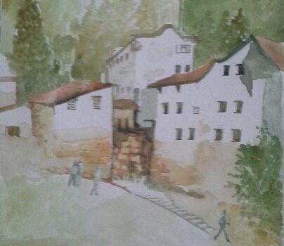 Acquerello di Gabriella De Masi