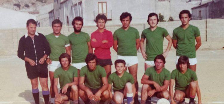 """Campionato estivo anni 70 al vecchio campo sportivo """"Balilla"""""""