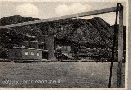 Quando c'era il campo sportivo in via Oreto…