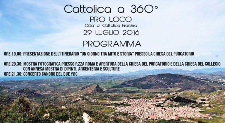Cattolica a 360^, un' intera serata dedicata alla storia del nostro paese: iniziativa della Pro Loco