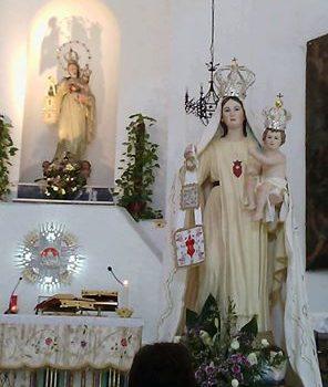 ROSARIO E CANTI DIALETTALI ALLA  BEATA VERGINE MARIA DELLA MERCEDE