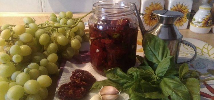 CEO TRA I FORNELLI. Pomodori secchi, una deliziosa conserva della tradizione siciliana