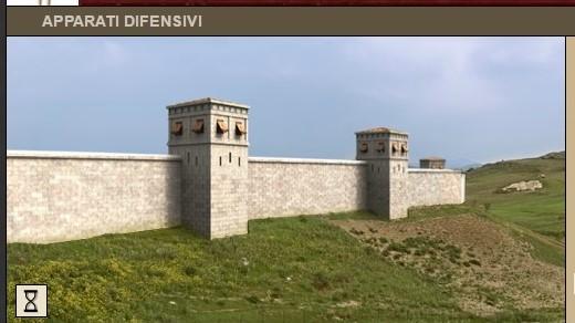 ERACLEA MINOA. Ecco come doveva essere la cinta muraria che difendeva dagli attacchi provenienti dalla foce del fiume Platani