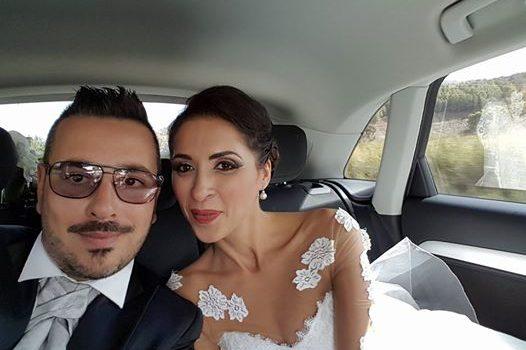 Auguri ai novelli sposi Nina e Alberto Caggegi