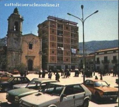 Piazza Roma negli anni 80