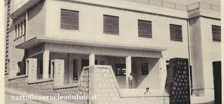 """FOTO STORY. Scuola media """"Ezio Contino"""" di via Agrigento anni 60"""