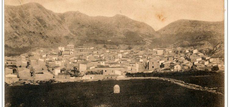 Panorama di Cattolica Eraclea agli inizi del 900