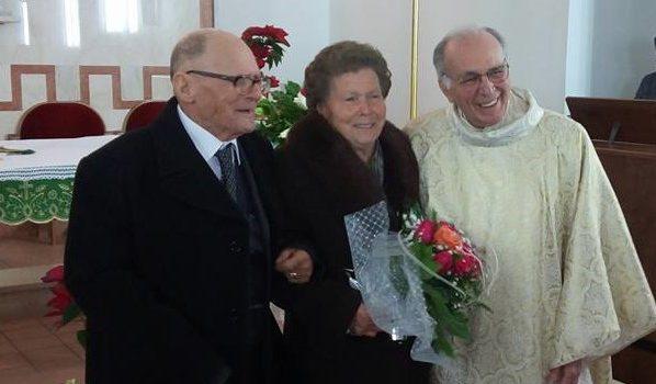 Antonina e Gerlando Chinzi festeggiano 60 anni di matrimonio