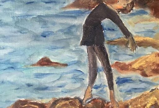 Splendido dipinto a olio di Antoine Giuffrida