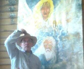 """Il pittore cattolicese Joseph Miliziano presenta """"I Dieci Comandamenti"""""""