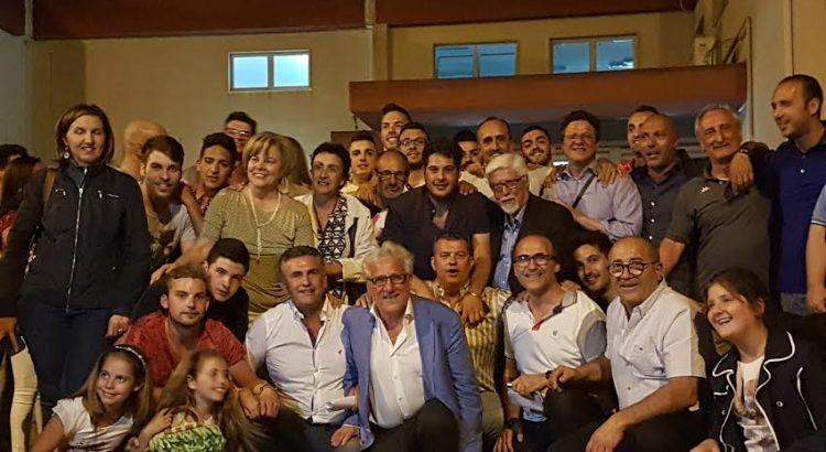 VIDEO. I primi festeggiamenti per l'elezione a sindaco di Santo Borsellino