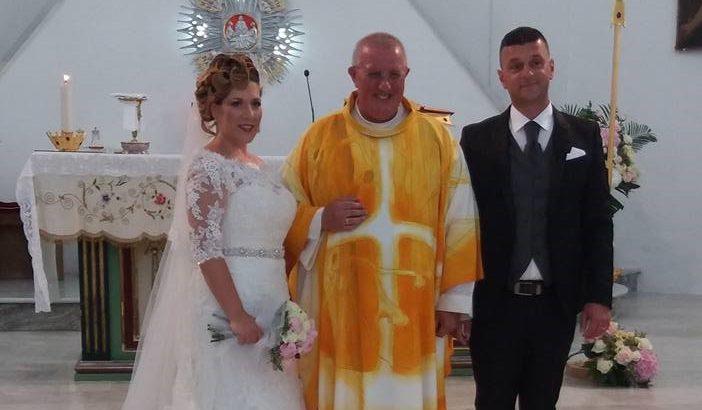 Tanti auguri a Caterina e Norino che ieri si sono uniti in matrimonio