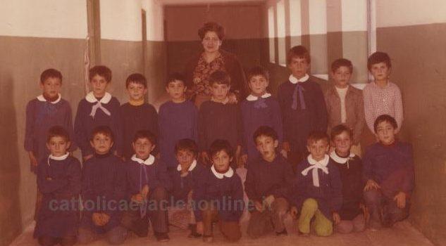 COME ERAVAMO | Anno 1976, seconda elementare alla scuola Villa Spoto