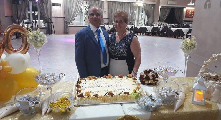 Cinquant'anni di vita insieme: tanti auguri a Liboria e Giovanni Emanuele