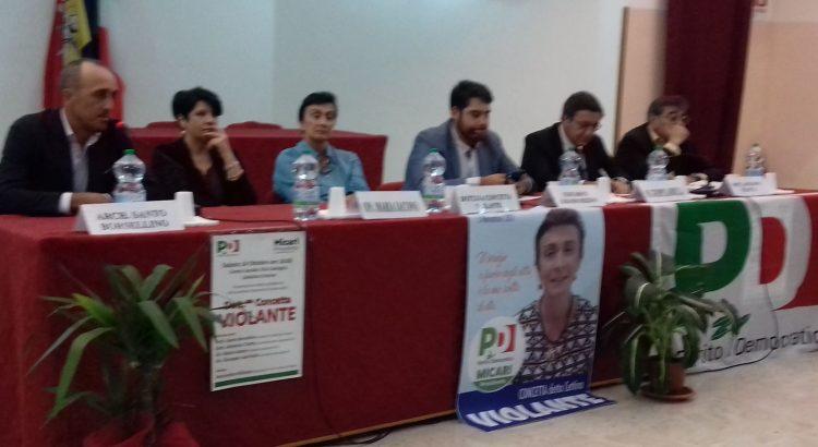 """Presentazione ufficiale della candidatura all'ARS, Dott.ssa Violante: """"Ho incontrato la mia gente e mi sono sentita onorata della solidarietà e del sostegno"""""""