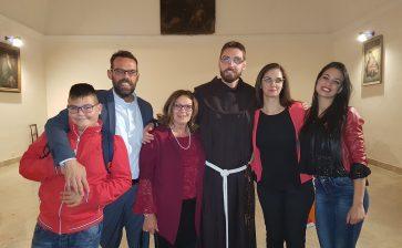 24 novembre, Ordinazione diaconale di fra' Antonino Gulisano