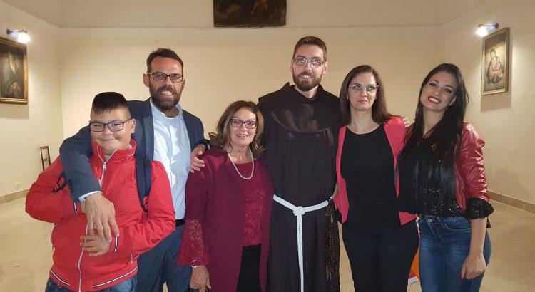 VIDEO| La professione solenne del frate cattolicese Antonino Gulisano