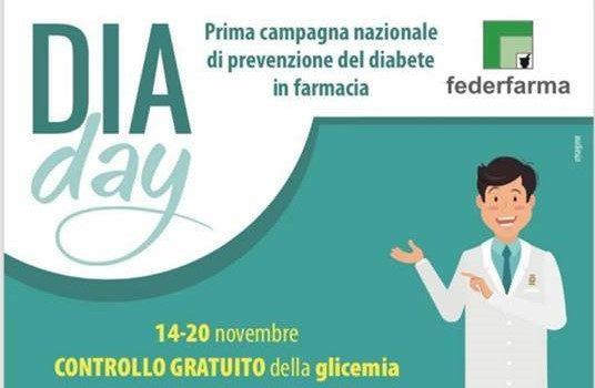 Giornata mondiale del diabete: misurazione gratuita della glicemia presso la Farmacia Sajeva
