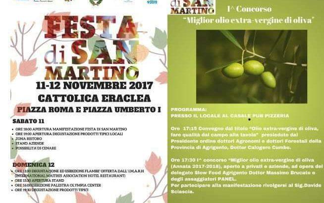 Torna la Festa di San Martino a Cattolica Eraclea