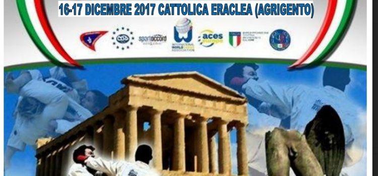 A Cattolica Eraclea si svolgerà la prossima Coppa Italia di Ju-Jitsu