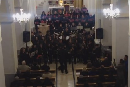 VIDEO| Gran Concerto di Natale dell'associazione Scarlatti