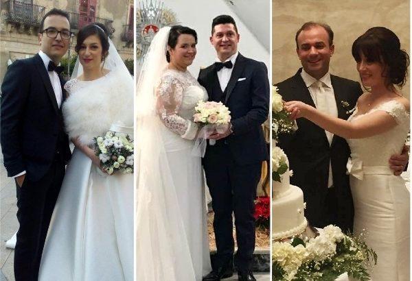 Settimana di Natale all'insegna delle nozze per alcuni giovani cattolicesi