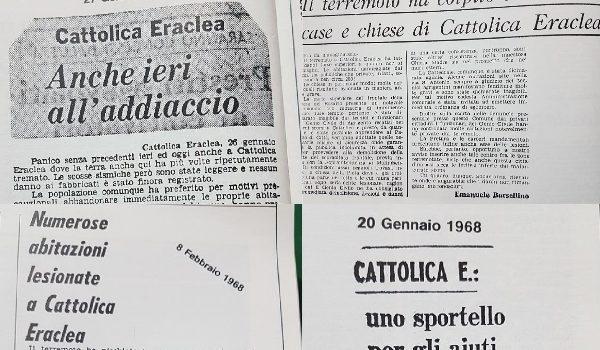 Terremoto del Belice, colpì duramente anche case e chiese di Cattolica Eraclea