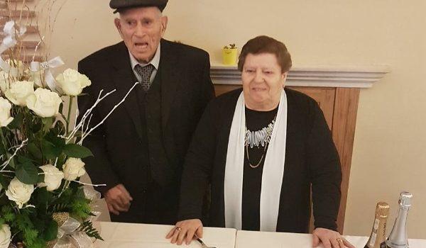 Pietro e Francesca oggi festeggiano 65 anni di matrimonio. Auguri