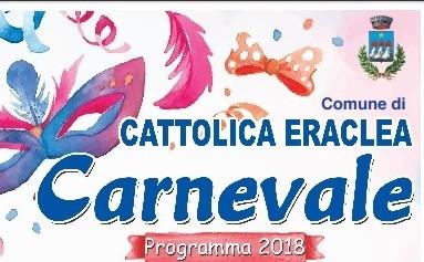 Carnevale a Cattolica Eraclea. Il programma edizione 2018