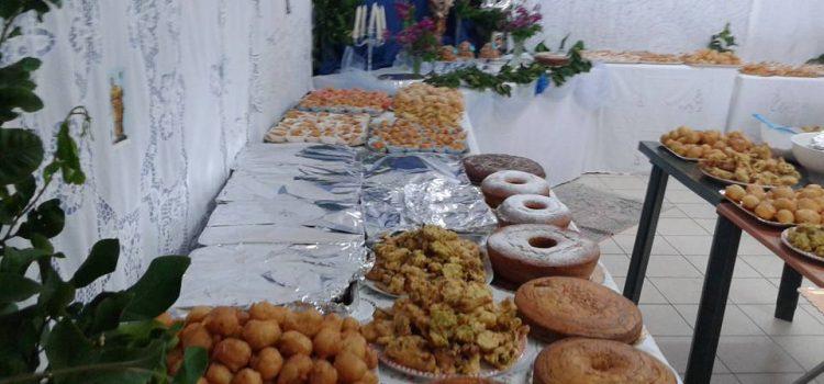 FOTO. Continua nel nostro paese la tradizione della tavolata di San Giuseppe