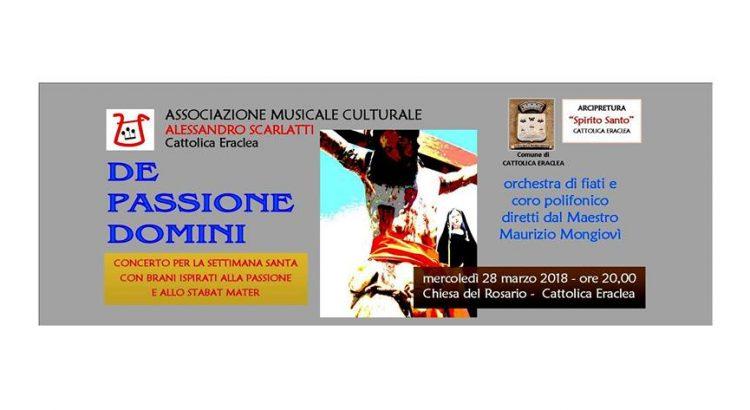 """""""De Passione Domini"""", concerto per la Settimana Santa"""