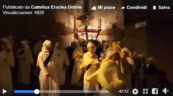 VIDEO| Il Venerdì Santo in diretta Facebook. Dal quartiere San Silvestro a via Santissimo