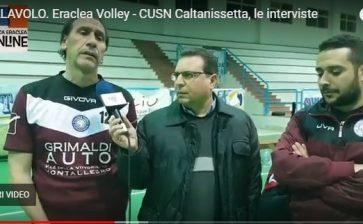 VIDEO| Eraclea Volley – CUSN Caltanisetta, le interviste a fine gara