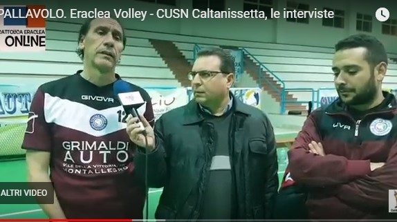 VIDEO| Eraclea Volley – CUSN Caltanisetta, le interviste a fine gara