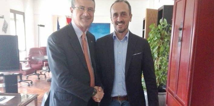 Eraclea Minoa. Il sindaco Borsellino incontra l'Assessore regionale Cordaro