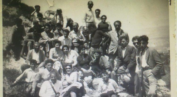 Scuola professionale Agraria, anno scolastico 1957/58. Gita sul monte Sorcio