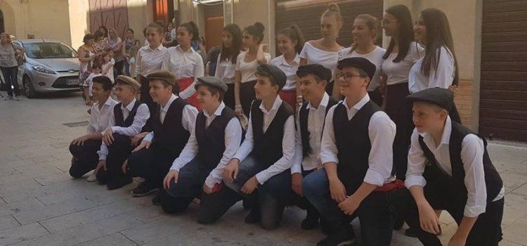 VIDEO. I ragazzi del Contino in una tarantella siciliana