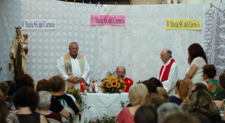 Per la festa della Madonna del Carmelo Santa Messa Solenne presieduta dall'Arcivescovo di Agrigento Mons. Francesco Montenegro