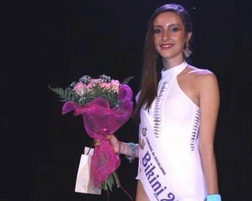 """La cattolicese Giusy Spezio eletta Miss Bikini al concorso di bellezza """"Siculiana in passerella"""""""