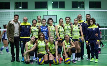 VOLLEY FEMMINILE DOMENICA TURNO DI RIPOSO. GIRONE D'ANDATA ALL'AGRODOLCE PER ASD TRAINING AND RELAX